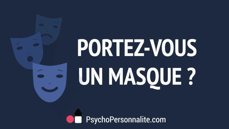 Portez-vous un masque ?