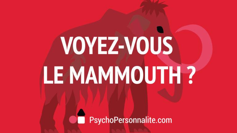 Voyez-vous le mammouth