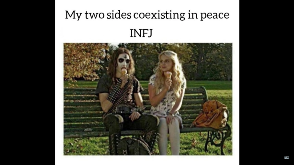 2 facettes de l'INFJ